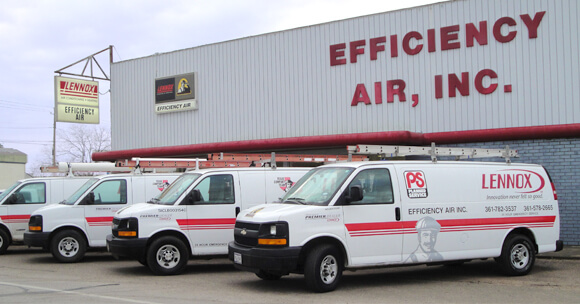 Efficiency Air in Both Edna and Victoria Texas