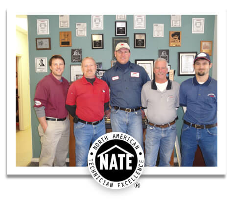 Efficiency Air North American Technician Excellence